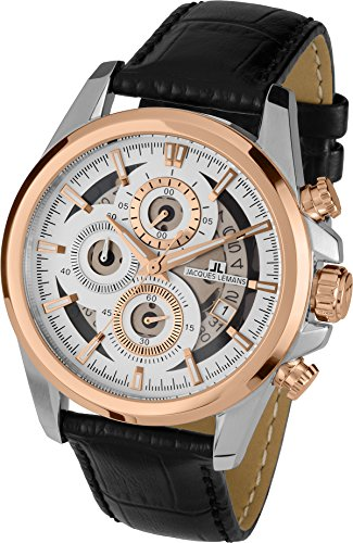 Jacques Lemans LIVERPOOL 1-1847C Mens Chronograph Design Highlight