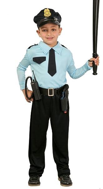 Costume Da Poliziotto   Bambino   Taglia: 7 9 Anni: Amazon.it
