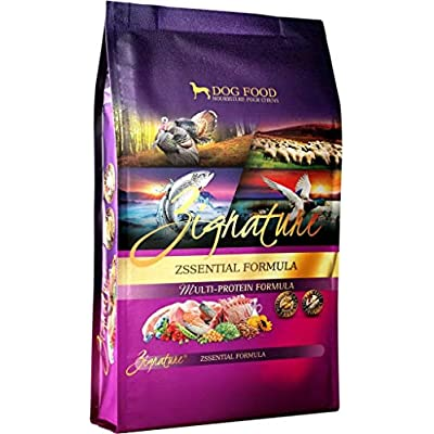 Zignature Zssentials Dry Dog Food Formula 4 lb. Bag, with Turkey, Lamb, Duck & Salmon