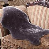OYJJ Simulation Sofa Cushion Cushion Cushion Carpet Soft Plush seat Cushion Bay Window Cushion Living Room Bedroom Decoration -Gray