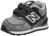 New Balance 574V1, Unisex Kids' Low-Top Trainers, Black (Black/White), 12 Child UK (30.5 EU)