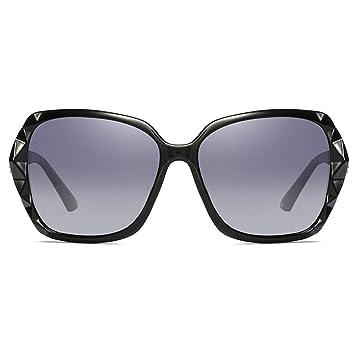 Negro/Púrpura/Rojo/Plateado Modelos Femeninos Gafas de Sol ...