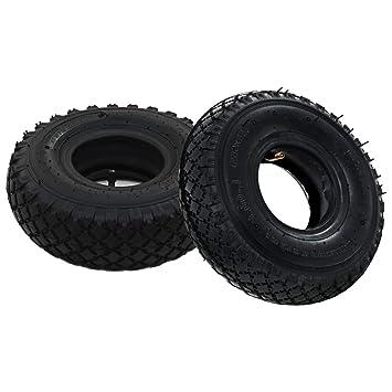 vidaXL 2x Neumáticos con Cámaras Internas Carretilla 3.00-4 260x85 Transporte: Amazon.es: Bricolaje y herramientas