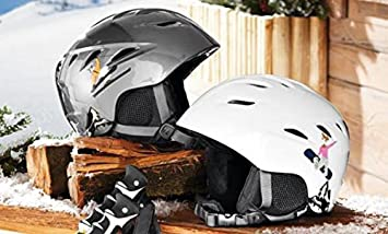 Niños de de esquí y – Crivit Sports – Casco de snowboard (Talla S 54