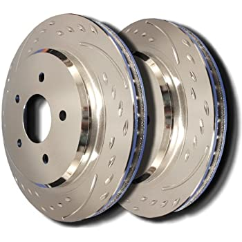 93-98 Toyota Supra (Turbo) Front Diamond Slot Brake Rotors