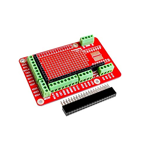 Prototyping Expansion Shield Board for Raspberry Pi 2 Board B and Raspberry Pi 3 Board B