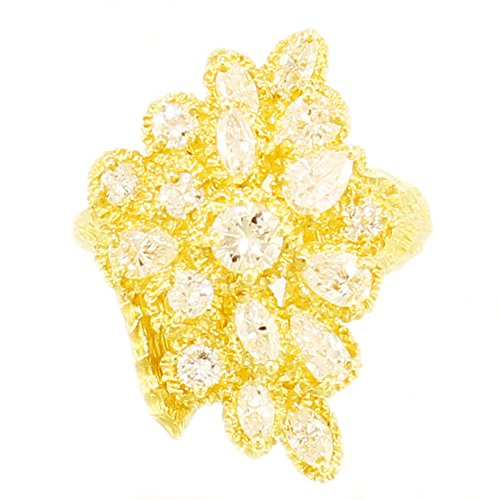 Yellow Gold Diamond Snake - 7