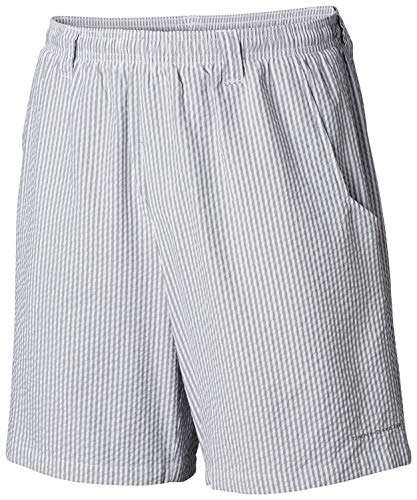 (Columbia Men's Super Backcast Water Short, Cypress Seersucker, Xxlx6)