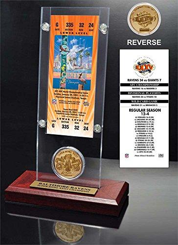 Baltimore Ravens Coin Set - 8