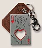 Trixie & Milo – The Gentleman's Bottle Opener & Key Ring (Queen of Hearts)