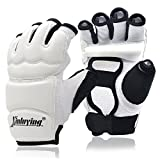 Xinluying Punch Bag Taekwondo Karate Gloves for Sparring Martial Arts Boxing Training Fingerless Women Kids Small