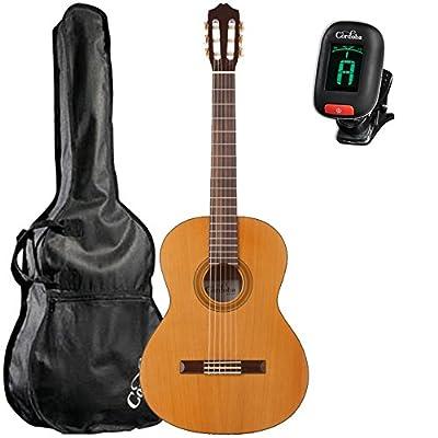 Cordoba C3M Classical Guitar with Cordoba Standard Gig Bag and Cordoba Clip-On Tuner