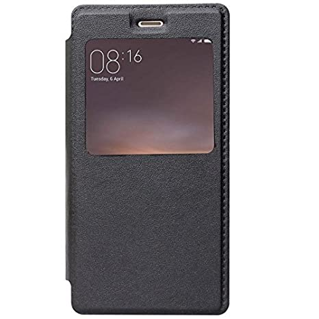 free shipping 7931d 7a2e5 SmartLike Leather Window Flip Cover for Nokia 8: Amazon.in: Electronics