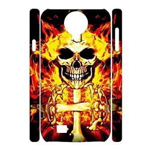 case Of Skull 3D Bumper Plastic Cell phone Case For Samsung Galaxy S4 i9500