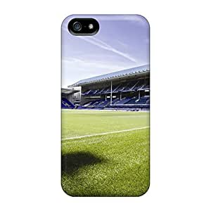 Anti-scratch And Shatterproof Famous Football Club Everton Phone Case For Iphone 5/5s/ High Quality Tpu Case