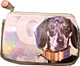 Fuzzy Nation Wristlet Screenprint Duchschund Wristlet Winter