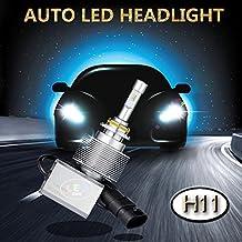 SWEON 2PCS 30W 4000LM H11 PHILIPS ZES Chip Car LED Headlight Conversion Kit 6000K Super Bright White Low Beam Bulbs High Power H1 H4 H7 H11 H13 9004 9005 9006 9007