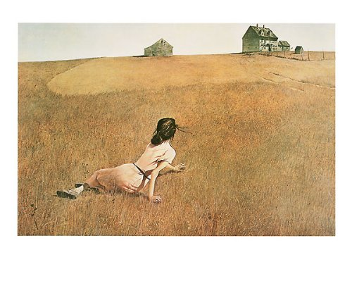 Christina's World Andrew Wyeth Farms landscapes Print Poster 36x27