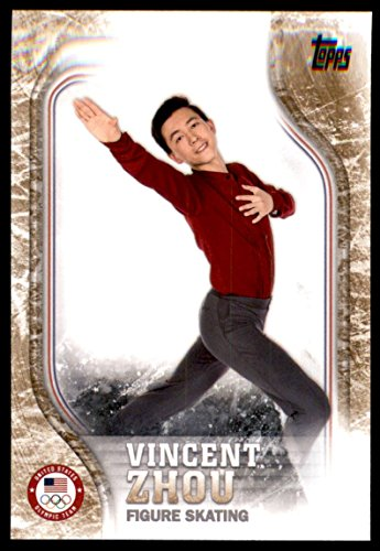 2018 Topps U.S. Olympic Team Bronze #US18 Vincent Zhou