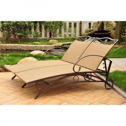 International Caravan Valencia Wicker Double Chaise Lounge Review