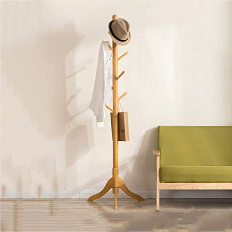 GXYGWJ Moda de Madera Maciza Oficina Soporte de Suelo Simple ...