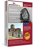 Albanisch-Komplettpaket: Lernstufen A1 bis C2. Fließend Albanisch lernen mit der Langzeitgedächtnis-Lernmethode. Sprachkurs-Software auf DVD für Windows/Linux/Mac OS X