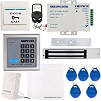 UHPPOTE Full Complete 125KHz EM-ID Card 1 Door Security Access Control Entry System Kit With Electric 600Lbs 280KG Force Magnetic Lock
