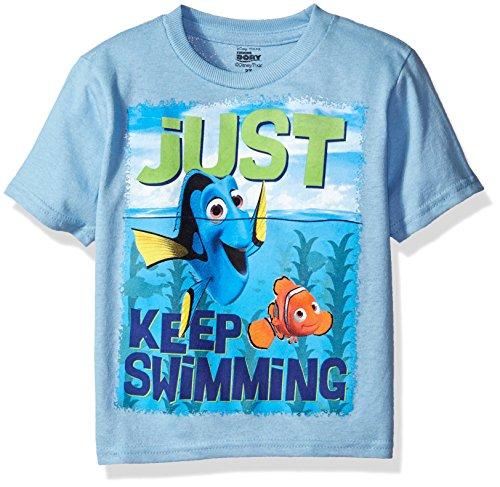 Disney Pixar Finding Dory Just Keep Swimming Sublimation Toddlers T-Shirt