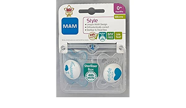 Amazon.com : MAM Style - I Love Mummy & Made With Love ...