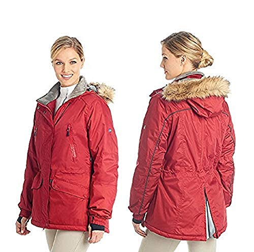 (Ovation Ladies Deluxe Jacket Small Rich Red)