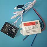 170-240VAC On/Off Touch Switch for Bathroom Mirror Lamp Lighting Accessories 50/60Hz Applicable to All Types of Lamps on the Medium(Glass, Acrylic, Plastic , Ceramic, etc)XD-621