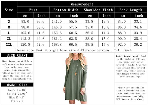 Green Dress Shirt Shoulder Pockets Swing with Uniboutique Army Women's Cold T qawvTY