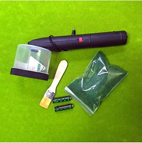 Mini Flocking Machine Static Grass Applicator Scenic Modelling Plant Master Electrostatic Lawn Mower