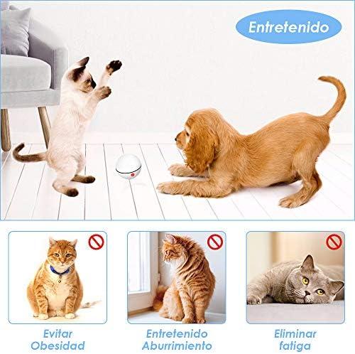 Juguetes para gatos, bola de gato interactiva inteligente,  juguete de ejercicio para gatos y perros 4