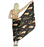Pizza Rat Scarf for Evening Dresses, Wedding Shawl Wrap for Women