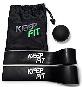 Mobility Master WOD Floss Band Set FREE Training Video and Lacrosse Massage Ball