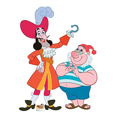 Fun Express - Captain Hook & Mr. Smee Standup - Party Supplies - Licensed Tableware - Misc Licensed Tableware - 1 Piece]()