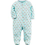 Carter's Baby Girls' Rainbow Zip up Sleep and Play 3 Months