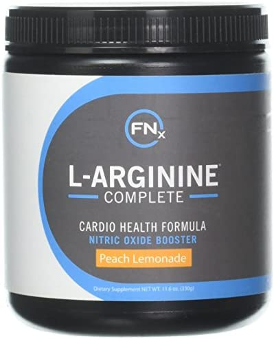 Fenix Nutrition L-Arginine Complete, L Arginine Powder, 5000mg, Peach Lemonade