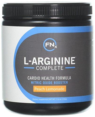 Fenix Nutrition L-Arginine Complete, Peach Lemonade - 5000mg L Arginine Capsules reduces the risk of heart disease, Nitric Oxide Booster, Natural Supplement, Increases Energy and Endurance (Best Arginine Supplement Reviews)