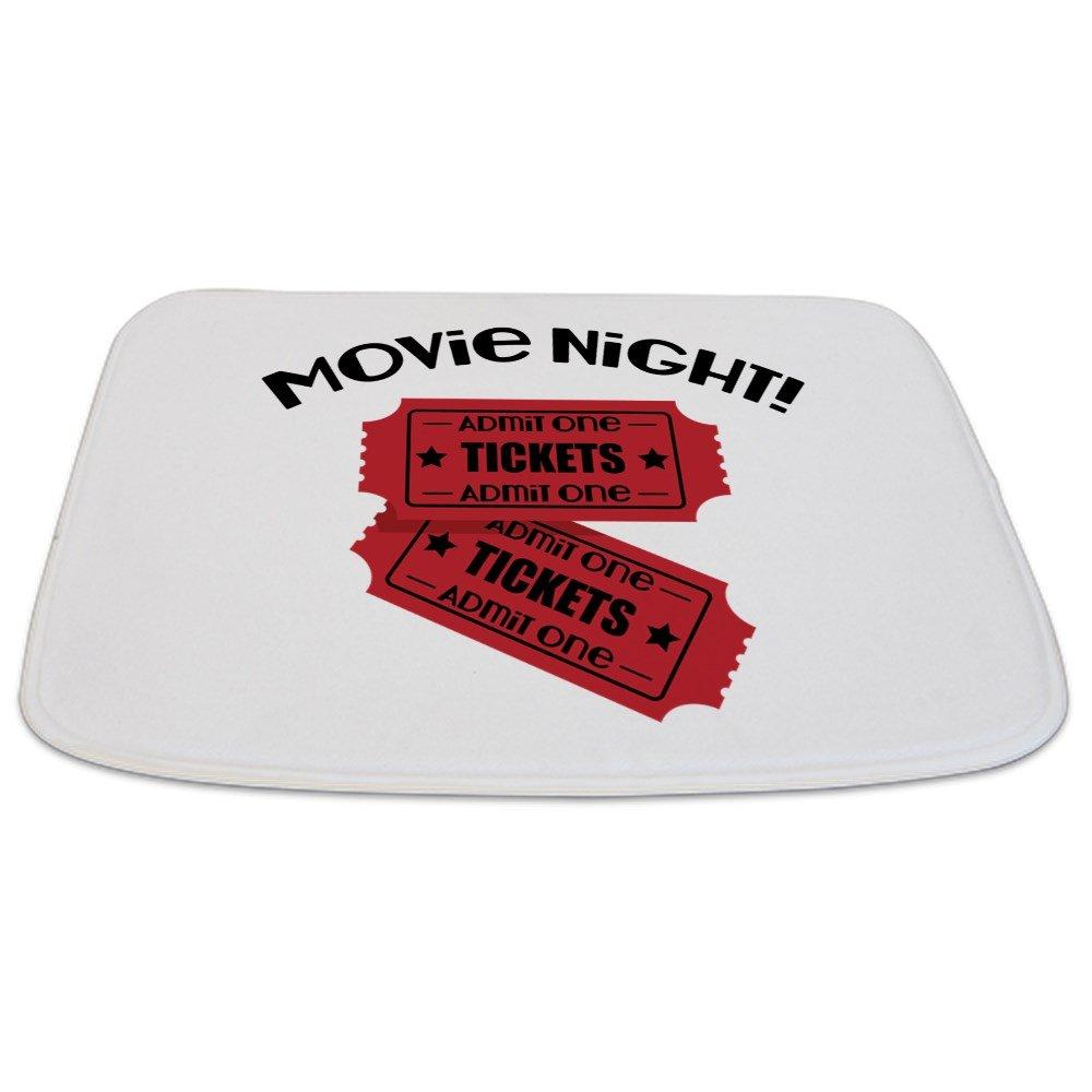 CafePress - Movie Night! - Decorative Bathmat, Memory Foam Bath Rug