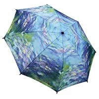 GALLERIA ENTERPRISES, INC. Water Lilies Folding Umbrella