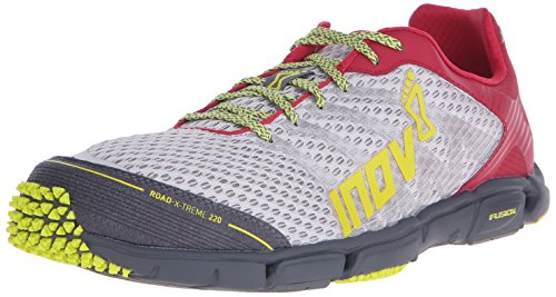 Inov-8 Road-X-Treme 220 Road Running Shoe Grey/Berry/Yellow