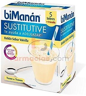 Bimanan BATIDOS SUSTITUTIVOS DE VAINILLA - 6 SOBRES- SUSTITUTIVE