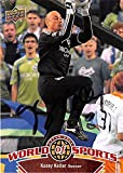 Kasey Keller autographed trading card (Soccer Football USA Seattle Sounders MLS) 2010 Upper Deck World Sports #69
