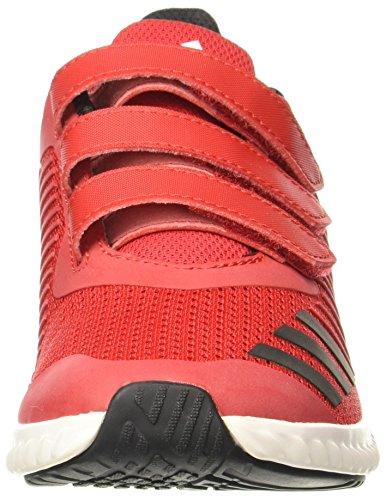 K Rouge Gymnastique adidas Chaussures Fortarun CF de Mixte Enfant Noir SPqEZ7vwxE