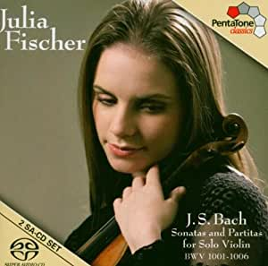 Bach: Sonatas Y Partitas Violin (Sacd)