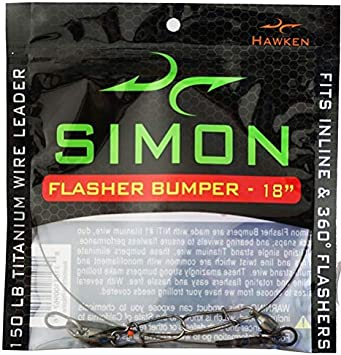 Simon Titanium Bumper for Flashers