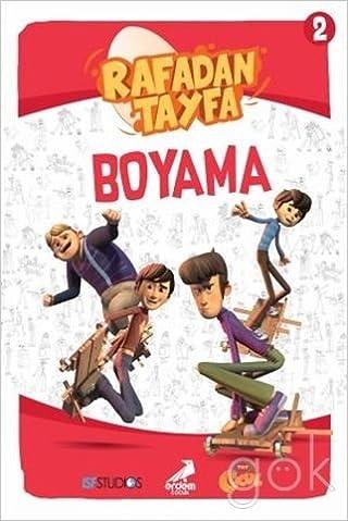 Rafadan Tayfa Boyama 2 9786053499596 Amazoncom Books