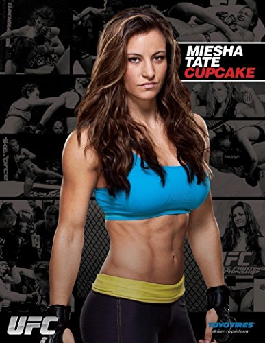 Newbrightbase Miesha Tate Hot Girl Fighter Mma Fabric Cloth Rolled Wall Poster Print   Size   32  X 24  17  X 13